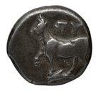 coin obverse Byzantion 163