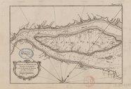 Partie du fleuve de Saint Laurent avec le bassin de Québec et l'isle d'Orléans J.-N. Bellin. 1764