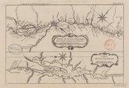 Partie du fleuve St Laurent (...) Carte du lac Champlain  J.-N. Bellin. 1764