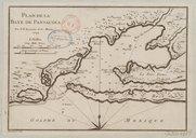 Plan de la baye de Pansacola  J.-N. Bellin. 1744