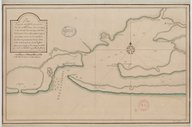 Plan du port et rade de Pensacole  18e