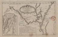 Suite du cours du fleuve St Louis depuis la rivière d'Iberville jusqu'à celle des Yaous J.-N. Bellin. 1764
