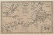 Carte du cours de la rivière des Amazones ou de Maragnon…  J.B. Bourguignon d'Anville. 1729