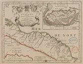 Coste de Guayane autrement France equinoctiale en la Terre Ferme d'Amérique  P. Duval. 1677