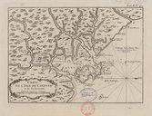 Carte de l'Isle de Cayenne et de ses environs  J.-N. Bellin. 1764