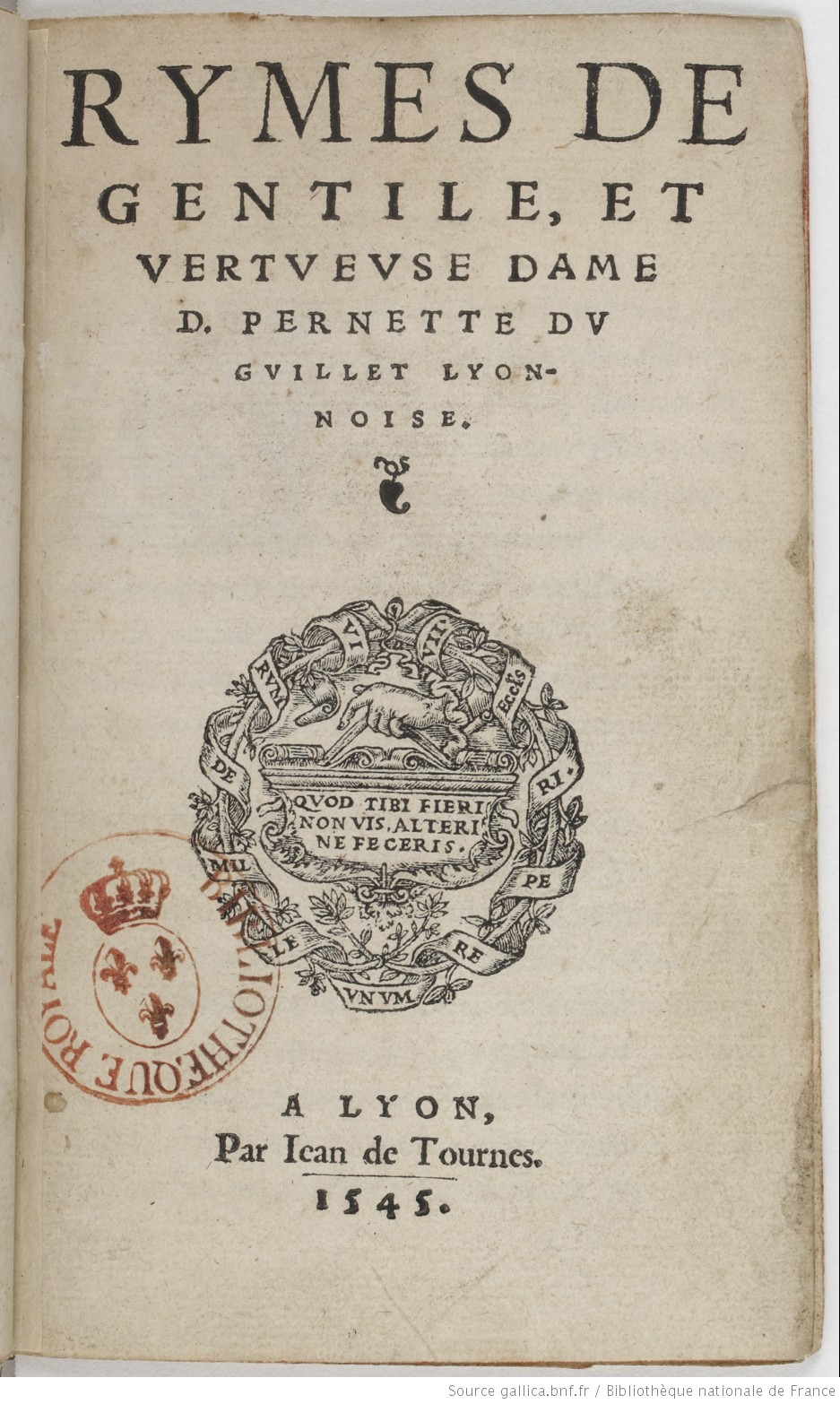 Afbeeldingsresultaat voor Pernette du Guillet