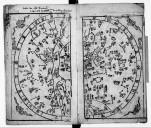 百備全書 Bai bei quan shu. Manuel encyclopédique comprenant : carte céleste, carte de la Chine, résumé historique avec portraits, caractères anciens, vie de Confucius [...]