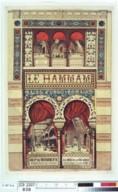 Le Hammam : bains turco-romains, rue Neuve des Mathurins, n°56 : hydrothérapie complète, étuves à air sec, massage, dépôt d'eaux minérales <br> 1876