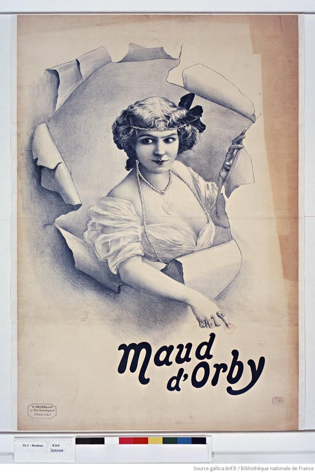 Maud d'Orby : [affiche] / [non identifié] - 1