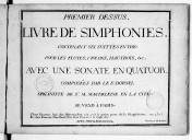 Illustration de la page Livre de symphonies provenant de Wikipedia