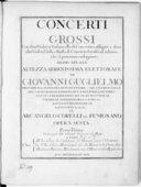 Illustration de la page Concertos grossos (12). Violons (2), violoncelle, orchestre à cordes, basse continue. Op. 6 provenant de Wikipedia