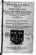 Illustration de la page Samuel Scheidt (1587-1654) provenant de Wikipedia