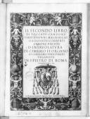 Illustration de la page Il secondo libro di toccate, canzone, versi d'hinni, Magnificat, gagliarde, correnti et altre partite d'intavolatura. 1627. Clavier provenant de Wikipedia