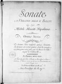 Illustration de la page 15 sonates. Violon, basse continue. Op. 6 provenant de Wikipedia