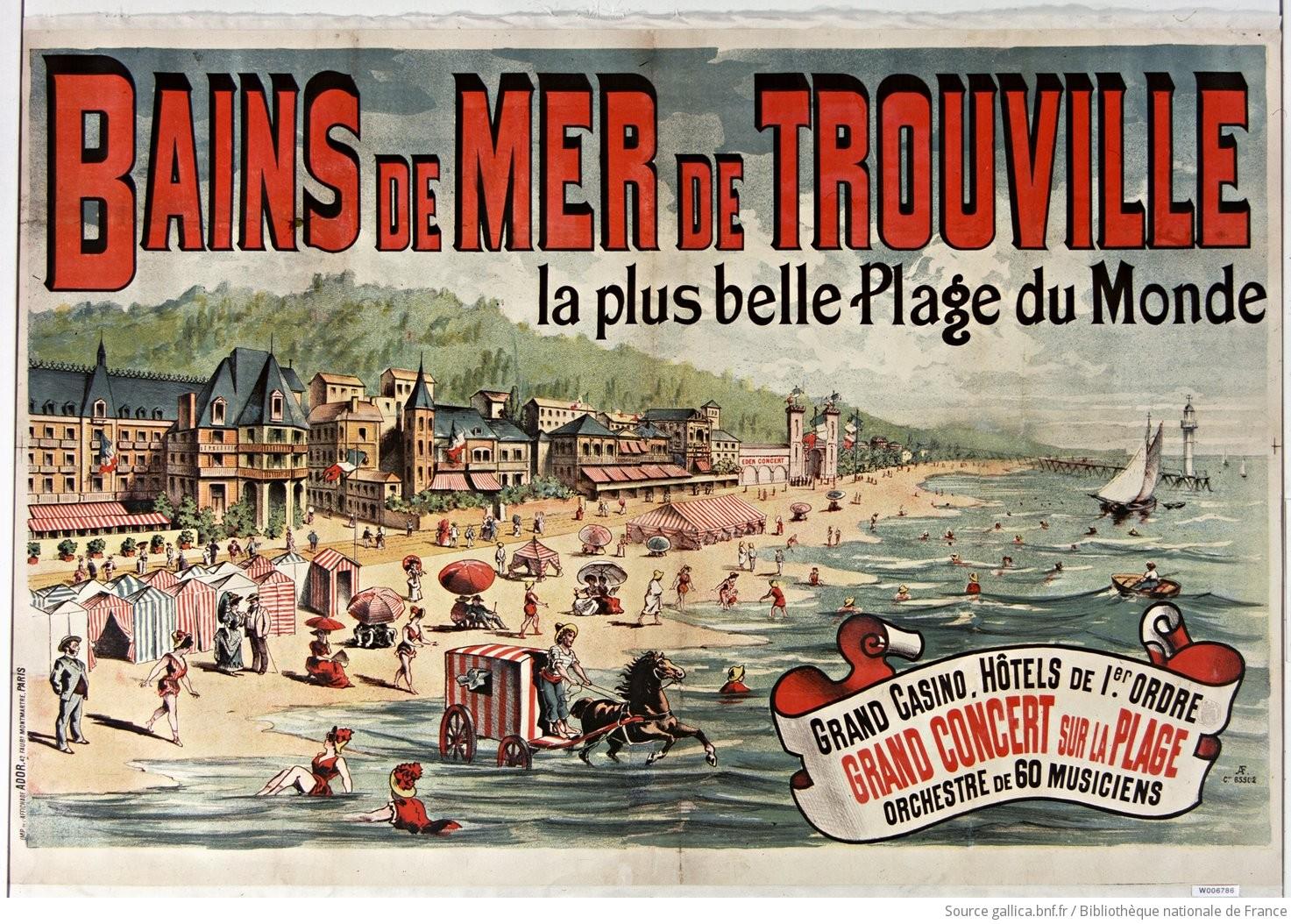 El nacimiento del turismo de vacaciones en la playa