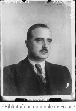 Portrait du professeur Burkhardt, nouveau haut commissaire de la S.D.N. à Dantzig : [photographie de presse] / Agence Meurisse