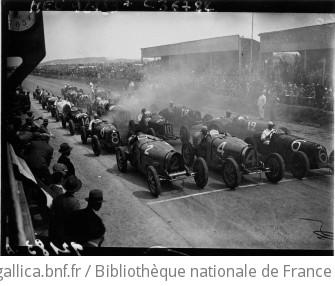 Grand Prix de Tunisie : le départ : [photographie de presse] / Agence Meurisse