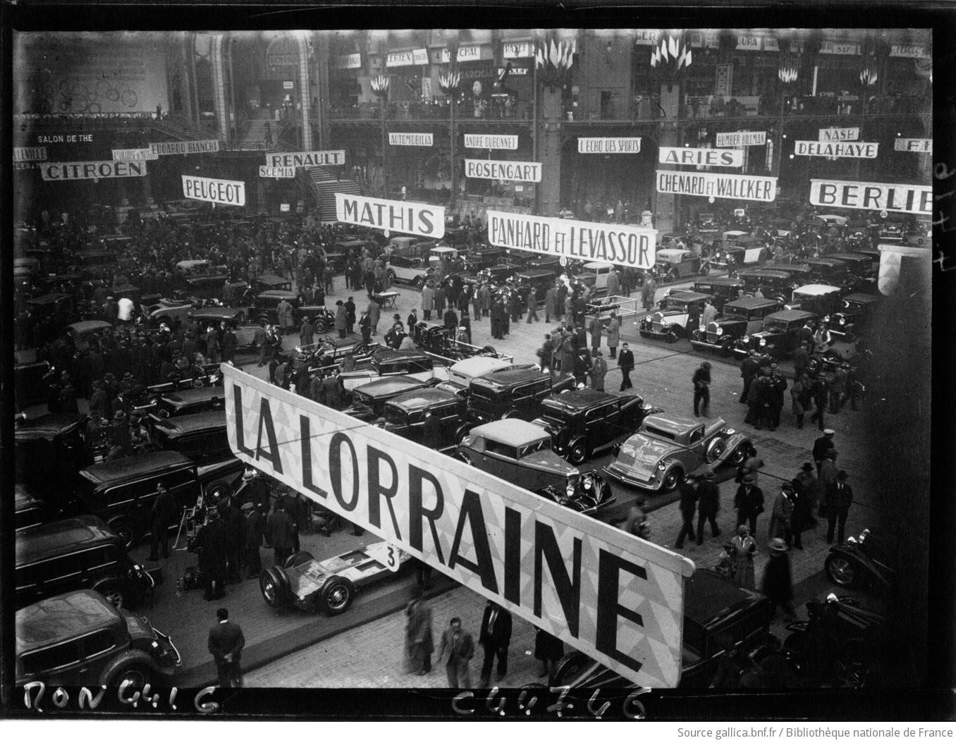 salon de l'automobile 1932 F1