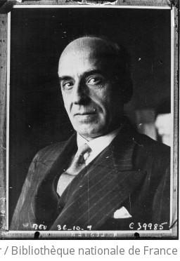 Portrait de M. Lester, ex-haut commissaire de la S.D.N. à Dantzig, qui prend la succession de M. Ascarati comme sous secrétaire général de la S.D.N. à Genève : [photographie de presse] / Agence Meurisse