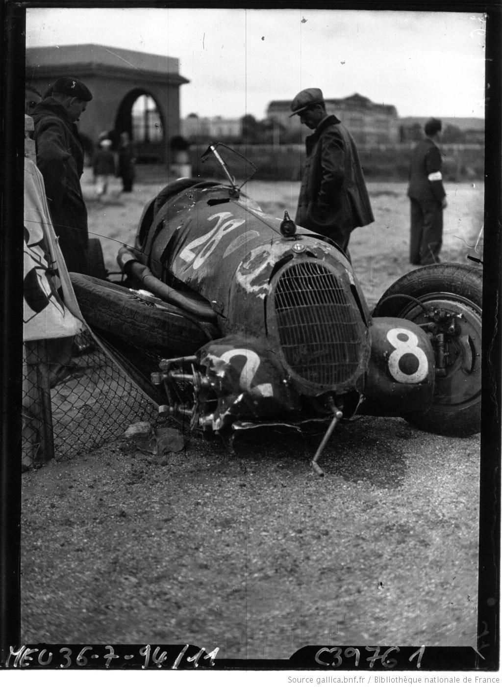 Petite revue de la rubrique  accidents  F1