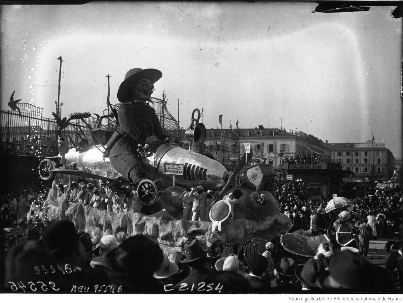 Le Carnaval de Nice : un char