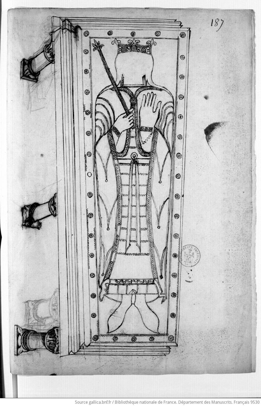 Les tombeaux mérovingiens de Saint-Germain-des-Prés F70