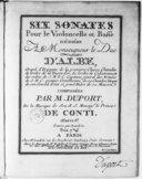 Bildung aus Gallica über Jean-Pierre Duport (1741-1818)