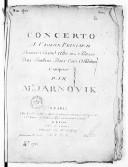 Bildung aus Gallica über Giovanni Mane Giornovichi (1747-1804)