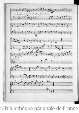 LES PETITS MARTEAUX - Manuscrit (après 1779)