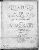 Illustration de la page Quatuors. Cordes. Ré majeur. KV 499 provenant de Wikipedia