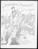 Image from Gallica about Joyeuse Espagne. Piano ou orchestre