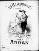 Bildung aus Gallica über Les braconniers : Polka. Piano