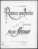 Illustration de la page Matilde Ardavani (compositrice, 18..-19.. ) provenant de Wikipedia