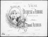 Image from Gallica about La duchesse de Ferrare : valse. Piano