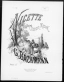 Image from Gallica about Nicette. Piano