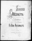 Illustration de la page Canzonettes provenant de Wikipedia