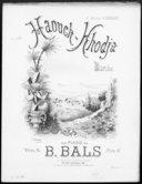 Illustration de la page B.  Bals (compositeur, 18..-19.. ) provenant de Wikipedia