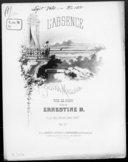 Illustration de la page L'absence. Piano provenant de Wikipedia