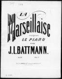 Illustration de la page Arrangements. Piano. Op. 311. La Marseillaise. Rouget de l'Isle, Claude-Joseph provenant de Wikipedia