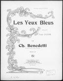 Illustration de la page Ch.  Benedetti (compositeur, 18..-19.. ) provenant de Wikipedia