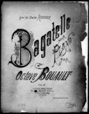 Illustration de la page Bagatelle. Piano. La majeur provenant de Wikipedia