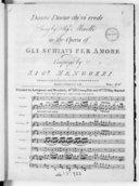 Bildung aus Gallica über Bernardo Mengozzi (1758-1800)