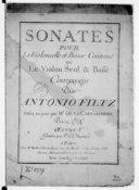 Bildung aus Gallica über Anton Filtz (1733-1760)