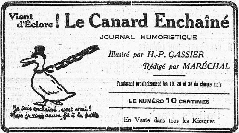 canard enchaine france
