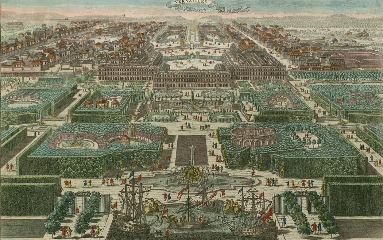 L Approvisionnement En Eau Des Jardins De Versailles Sous Louis Xiv