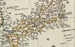Russisch-japanischer Kriegsschauplatz : karte von Ost-Asien mit spezialkarte von Korea, 1904, CPL GE D-4663 (1)