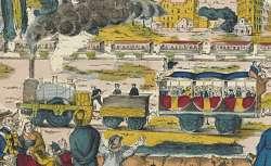 Imagerie d'Epinal, Le Chemin de fer (1800-1869)