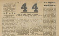 """Accéder à la page """"44 [Quarante-quatre] (Basses-Pyrénées)"""""""