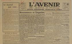 publication disponible de 1945 à 1946