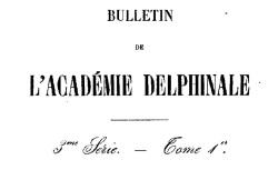 """Accéder à la page """"Bérenger, Récit de la visite faite par la cour de Grenoble à Napoléon (1815)"""""""